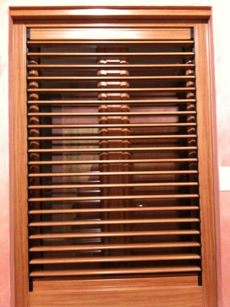 Aluminium Timber Security Window Shutters Photo Gallery